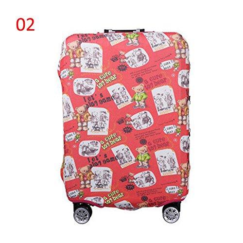 Zhuhaixmy Neu Elastisch Dustproof Gepäck Koffer Trolley Schutz Tasche Abdeckung Anti-Kratzer #02