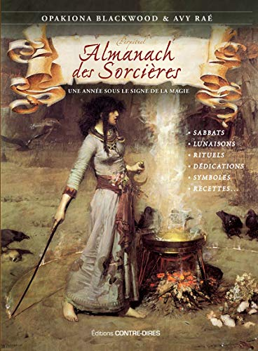 Almanach des sorcières : Une année sous le signe de la magie, avec le livret Heures planétaires de Samhain 2018 à Samhain 2019