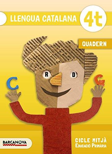 Llengua catalana 4t. Quadern (Materials Educatius - Cicle Mitjà - Llengua Catalana) - 9788448936679