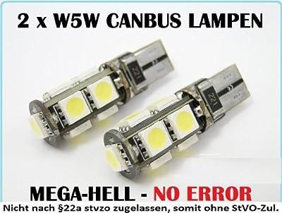 2 x SMD-LED Standlicht Lampe Canbus xenon-weiß VW Golf 5 6 Plus o. Fehlermeldung