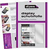 dipos I 2X Schutzfolie klar passend für Tesla Model S Display Folie Displayschutzfolie
