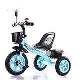 MASLEID Kinder 1-6 Jahre alt Kinderdreirad Wagen fahrrad , blue