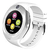 Best Relojes de pantalla táctil - Kivors Bluetooth Smartwatch, Classic Ronda de IPS Pantalla Review