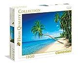 Clementoni 31669.4 - 1500 T High Quality Collection Martinique, Karibik, Klassische Puzzle