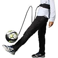 Larcele Fútbol Solo Kicking Practice Cinturón de entrenamiento de Fútbol para niños ZQDQD-01