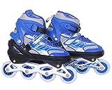 Bodyfit Adjustable Inline Skates Assorted Colors (40-43 Xl)