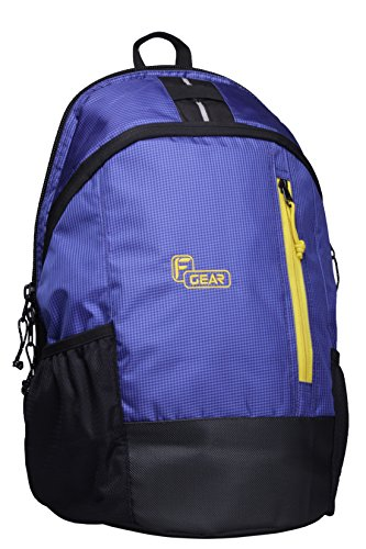F Gear Rocco 21 Liters Backpack (Blue Black)  available at amazon for Rs.499