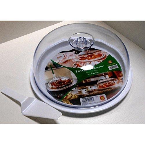 Fimel – Tourtière Cream ronde Taille Diam. 350 mm H 130 mm avec pelle à tarte