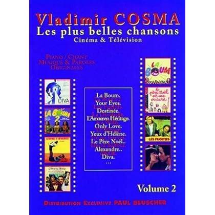 Vladimir Cosma - les plus belles chansons - cinema et télévision - volume 2