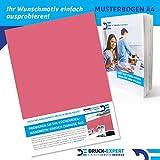 Küchenrückwand Rottöne Unifarben Premium Hart-PVC 0,4 mm selbstklebend - Direkt auf die Fliesen, Größe:Materialprobe A4, Ral-Farben:Altrosa ~ RAL 3014