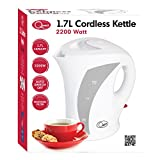 Quest Jug Kettle, 1.7 L, 2200 Watt, White