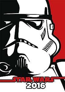 Calendrier 2016 Star Wars A3 calendrier cartoon mural 42 x 29,7 cm