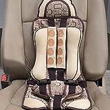 Asiento de seguridad portátil ajustable para niños con asiento de seguridad para niños de 4 a 8 años