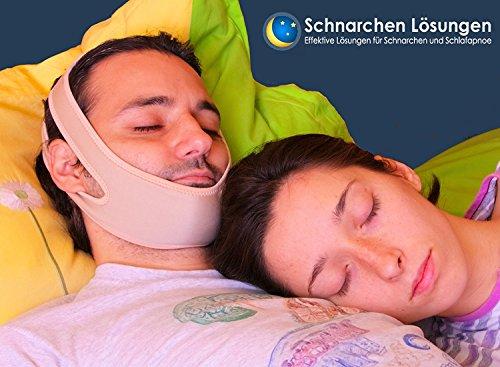 Premium Schnarchen Lösung Kiefer Strap - Ausgabe 2017 | Beste Schnarchen Lösung | Schnarchenhilfe | Stop Schnarchen - 95% Erfolgsrate