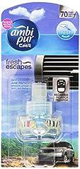 Idea Regalo - Ambi Pur Car Deodorante per Auto Brezza Leggera Ricarica 7ml