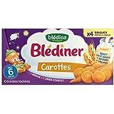 Bledina blédiner lait et légumes carottes sans gluten 4x250ml dès 4-6 mois - ( Prix Unitaire ) - Envoi Rapide...