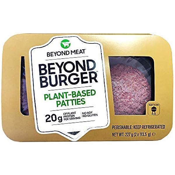 Beyond Meat Burger | Hamburguesa 100% Vegetal | Plant Based ...
