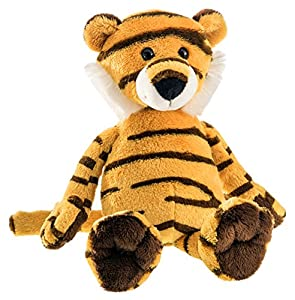 Schaffer 5550de Peluche Tiger Amur, Amarillo de Negro, XS-16cm
