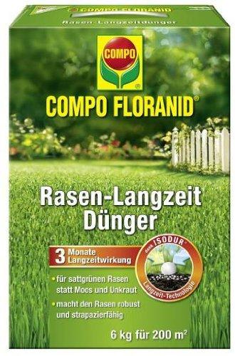COMPO Floranid®, Rasen-Langzeitdünger 6kg
