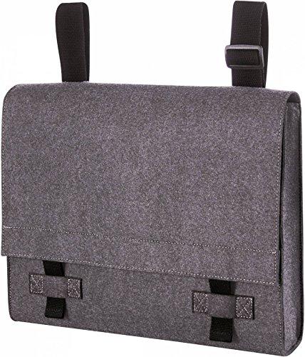Filz College Tasche Laptoptasche 37 x 29 x 7 cm Tablet Uni Schule (Hut Deluxe Filz)