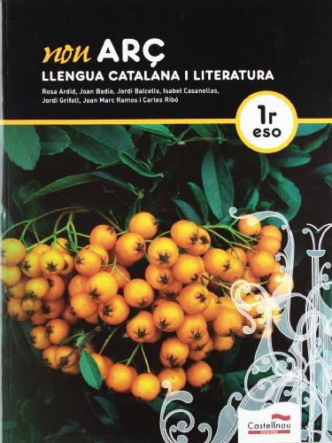 Nou Arç. Llengua catalana i literatura 1r ESO - 9788498044829 por Joan Badia Pujol