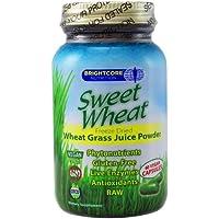 Brightcore Nutrition - polvere di succo di grano dolce grano biologico erba - 60 capsule vegetariane