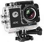 Piqancy 4K Ultra HD Water Resistant Sports Action Camera