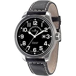 Zeno-Watch Herrenuhr - Oversized Pilot Automatic - 8554-a1