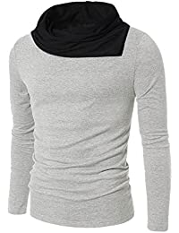 Try This Men's Cotton Boat Neck Full Sleeves T-Shirt