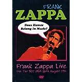 Frank zappa: does humor belong in music?