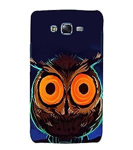 printtech Nature Bird Owl Back Case Cover for Samsung Galaxy A8::Samsung Galaxy A8 A800F