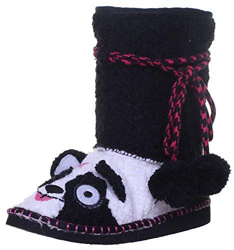 Tigerbear République Beasti autres chaussures bottes en tissu pour femme Noir - Black White KP