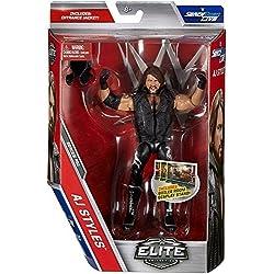 WWE SERIE ELITE 51 wrestling action figure - The fenomenale UNO AJ STILI NERO ABBIGLIAMENTO