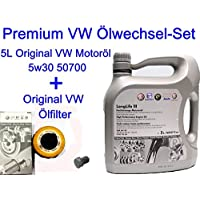 5L Original Olio motore 5W3050700VW Golf V VI PLUS PASSAT CC Polo 6R 1.62.0TDI