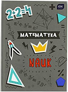 Interdruk BRA5MAT Cuaderno de Tapa Dura A5 80#Maths, Multicolor