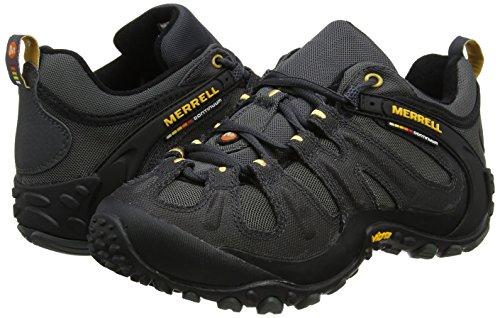 Merrell Men's Chameleon Wrap Slam Low Rise Hiking Boots, Grey (Granite/Lead), 8.5 UK 43 EU