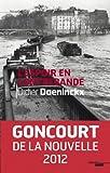 L'espoir en contrebande, Goncourt de la Nouvelle 2012