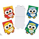 Owl-Shaped Notepads (2 Dozen) Party Favors/School Supplies by FX
