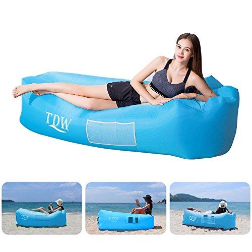 TDW Aufblasbares Sofa Outdoor,Luftsofa, Air Aufblasbares,Aufblasbare Liege, Aufblasbarer Sitzsack,...