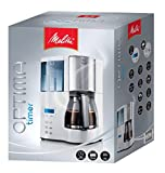 Melitta-Optima-Timer-Cafetire-Filtre-Verseuse-en-verre-programmable-Auto-OFF