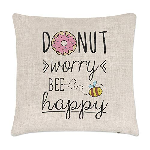 TEPEED Watercolor Lemon Tree 18x18 inches/45x45CM Pillow Farmhouse Pillow Cover Housewarming Gift Pillow Cover Throw Pillow Lemon Tree Topiary Ginger Jar Pillow Rose Ginger Jar