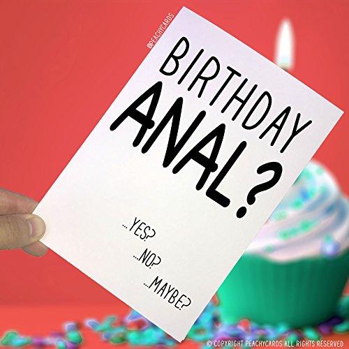 eburtstagskarte, Lustige Karten, Grußkarten, Freundin-Karten, Geburtstagskarten für Ehefrau, Gay Boyfriend, Rude PC4 ()