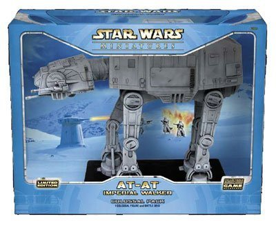 Star Wars AT-AT Imperial Walker: Colossal Pack (Star Wars Collectable Miniatures Game Accessories)