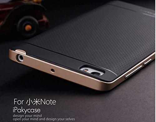 GOON SHOPPING HIGH QUALITY IPAKY TPU+PC HYBIRD ARMOR PROTECTIVE BACK BUMPER CASE COVER FOR XIAOMI MI4I -(ROSEGOLD)