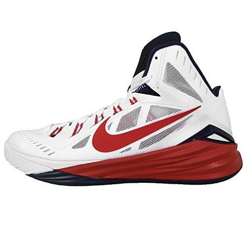 Women's Nike Hyperdunk 2014 TB Basketball Shoes Size 12.5 White Black 653484 100