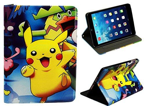 Für Apple iPad Mini 1234tolle Pokemon Pikachu Fun Kids Cartoon Case Cover (Case 2 Pokemon Ipad Mini)