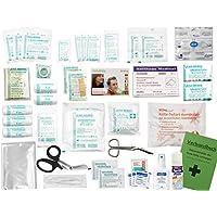 Komplett-Set Erste-Hilfe DIN 13157 EN 13 157 PLUS 4 für Betriebe mit Sprühpflaster, Hygiene-Ausstattung, Notfallbeatmungshilfe... preisvergleich bei billige-tabletten.eu