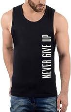 Hotfits Men's Cotton Sleeveless T-Shirt