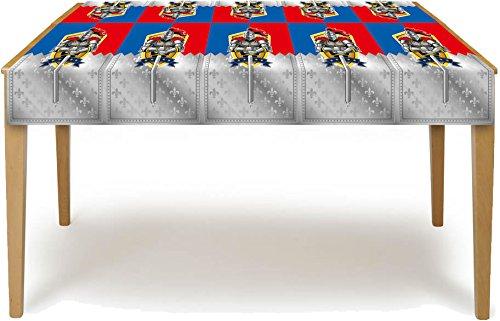 Sport-thema Tischdecke (NEU Tischdecke Ritter & Wappen, 180x130 cm)