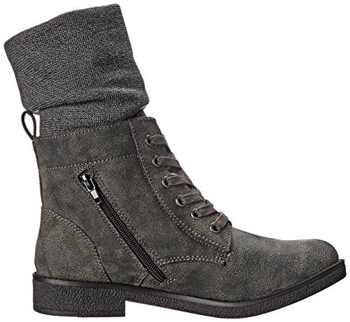 Rocket Dog Temecula Rund Textile Mode Mitte Calf Stiefel Black